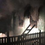 В ночном пожаре погибли 2 человека