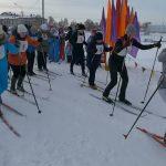 Соревнования медицинских работников по лыжным гонкам