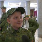 Военно патриотический слёт мальчишек