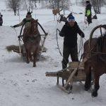 В Азналкино прошли зимние соревнования по конному спорту и стрельбе из лука