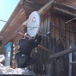 Жителям Белорецкого района бесплатно устанавливают спутниковые антенны