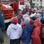 На площади Металлургов состоялась выставка пожарной техники