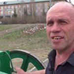 Народный умелец Павел Копьев сделал пушку и пулемет