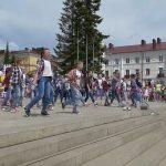 День защиты детей на площади Металлургов