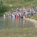 Массовое крещение в День равноапостольного князя Владимира