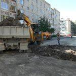 Обновление дворовых территорий продолжается