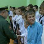 Торжественная церемония посвящения учеников Белорецка в ряды «Юнармии»