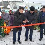 Открытие памятника и «Вечного огня» в с.Абзаково