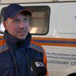 Лучший спасатель Белорецкого района Андрей Смирнов