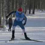 Первые старты по лыжным гонкам на базе «Курташ»