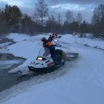 Сборы спасателей по горно-таежной подготовке в зимний период