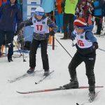 Белоречане вышли на «Лыжню России»