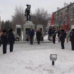Митинг, посвященный 31-й годовщине вывода советских войск из Афганистана