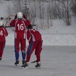 Товарищеский матч среди ветеранов по хоккею с мячом
