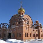 Установка окон в Свято-Никольском храме