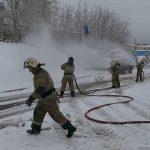 Врио главы администрации Белорецкого района Андрей Иванюта посетил пожарно спасательную часть