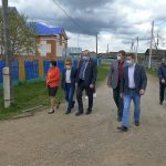 Андрей Иванюта посетил Кагинский и Верхнеавзянский сельсоветы