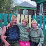Белоречане в День Победы провели акцию «Поем двором»