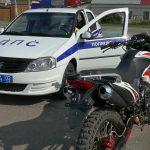 В Белорецке мотоциклиста оштрафовали за езду на стадионе «Металлург»