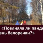 Опрос «Повлияла ли пандемия на жизнь белоречан»