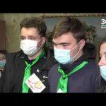 Студенты медики поздравили ветеранов ВОВ с Днем пожилых людей
