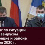 Брифинг по ситуации с коронавирусом в Белорецке и районе 6 ноября 2020