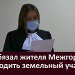 Суд обязал жителя Межгорья освободить земельный участок