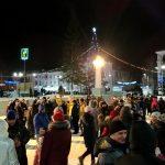 Первые 3 часа нового года. Площадь Металлургов. Белорецк