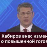 Радий Хабиров внес изменения в указ о повышенной готовности