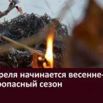 С 15 апреля начинается весенне-летний пожароопасный сезон