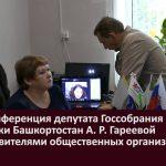 Видеоконференция депутата Госсобрания - Курултая РБ с представителями общественных организаций