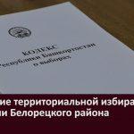 Заседание территориальной избирательной комиссии Белорецкого района