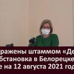 95% заражены штаммом «Дельта»  Эпидобстановка в Белорецке и районе на 12 августа 2021 года