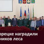 В Белорецке наградили работников леса