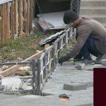Благоустраивается территория мечети Октябрьского микрорайона