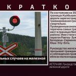 Рост смертельных случаев на железной дороге