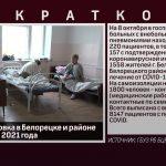 Эпидобстановка в Белорецке и районе на 8 октября 2021 года