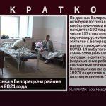 Эпидобстановка в Белорецке и районе на 25 октября 2021 года
